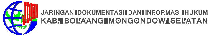 Jdih Bolang Mongondow Selatan